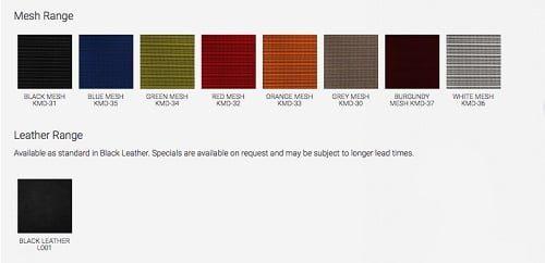 mesh chair colour swatch