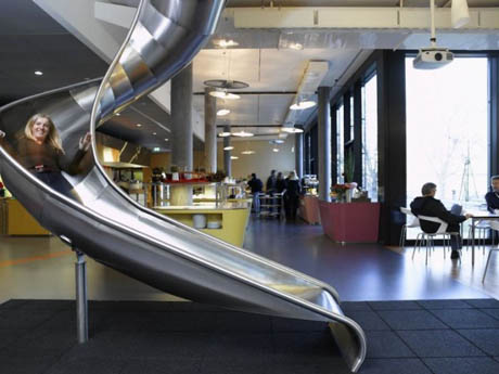 Google Offices - Slide - Office Furniture and Design