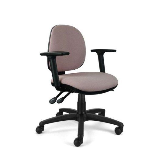 medium back task chair side